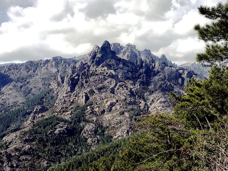 Les aiguilles de Bavella dans l'Alta Rocca