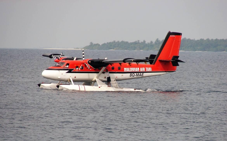 L'hydravion le taxi des airs pour les vacances aux Maldives