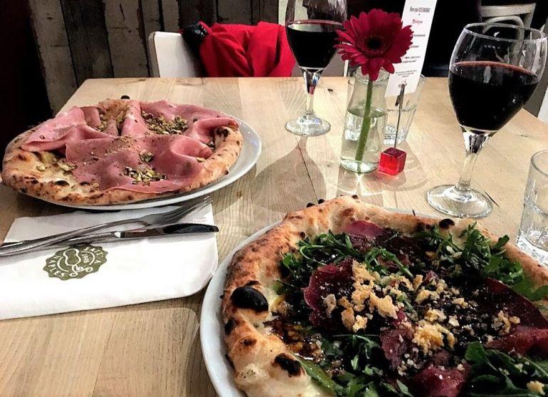 Pizzas du Rossopomodoro la meilleure pizzeria de Londres