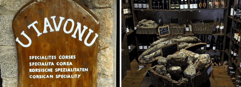 Spécialités locales à Porto-Vecchio