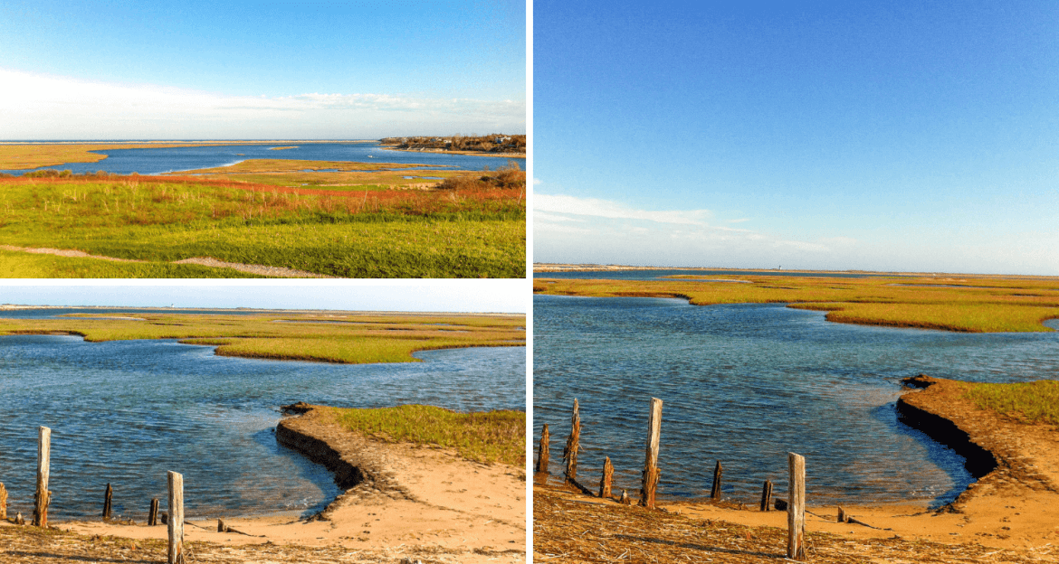 Fort Hill Overlook à Eastham Cape Cod