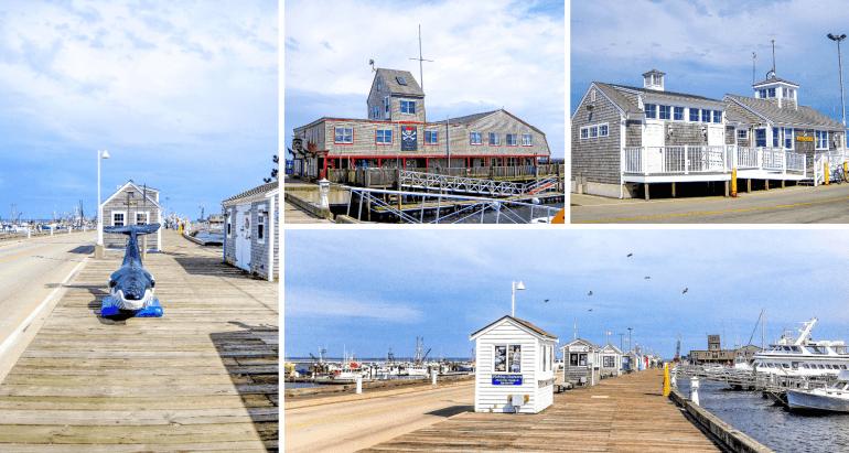 MacMillan Wharf à Provincetown Cape Cod
