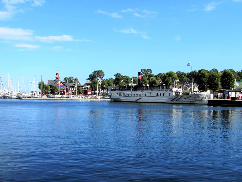 Port de Sandhamn en Suède