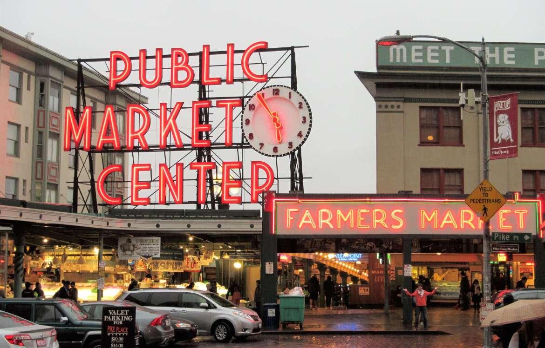 Visiter le Pike Place Market à Seattle