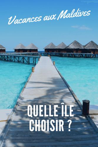 Choisir son île des Maldives