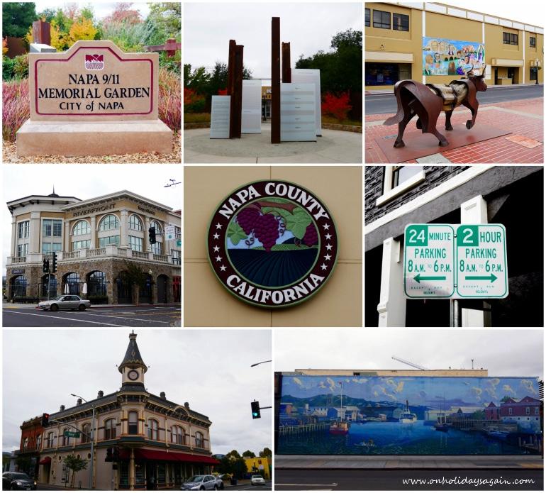 Ville de Napa à Napa Valley en Californie