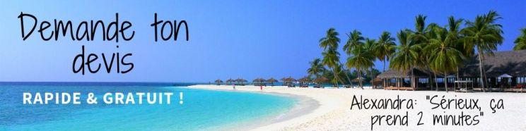 Vacances aux Maldives devis