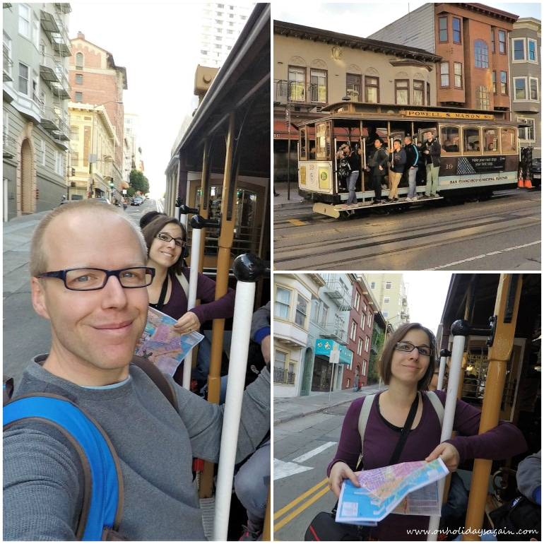 Visiter San Francisco en 1 jour Cable Car San Francisco Californie USA blog voyage suisse cosy on holidays again
