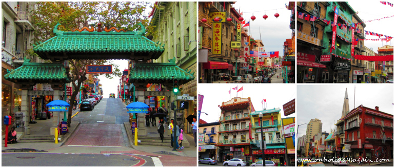 Visiter San Francisco en 1 jour Chinatown San Francisco Californie USA blog voyage suisse cosy on holidays again