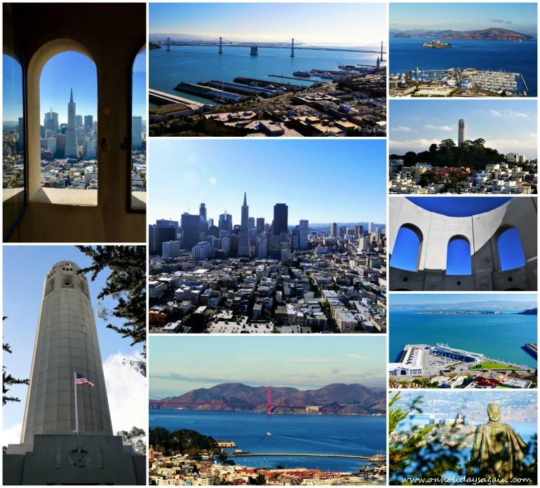 Visiter San Francisco en 1 jour en montant sur la Coit Tower à Telegraph Hill