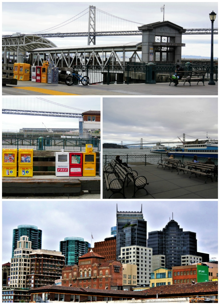 Visiter San Francisco en 1 jour Ferry Terminal Embarcadero San Francisco Californie USA blog voyage suisse cosy on holidays again