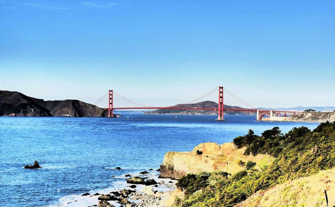 Golden Gate à San Francisco en Californie