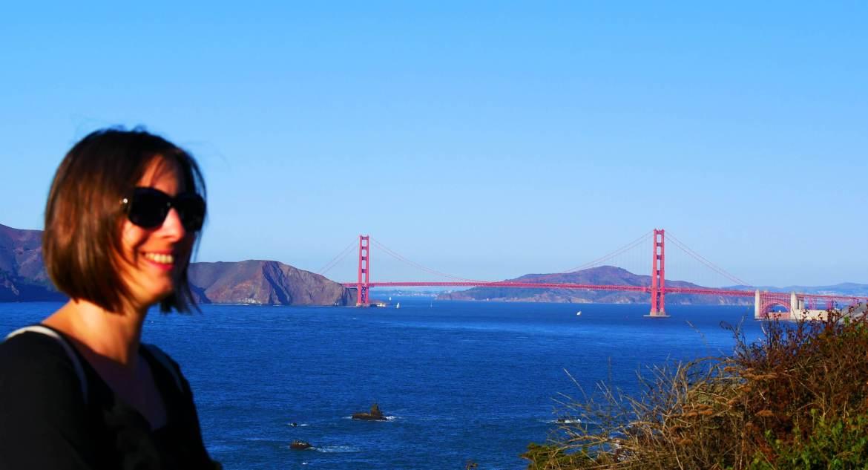 La vue sur le pont Golden Gate à San Francisco