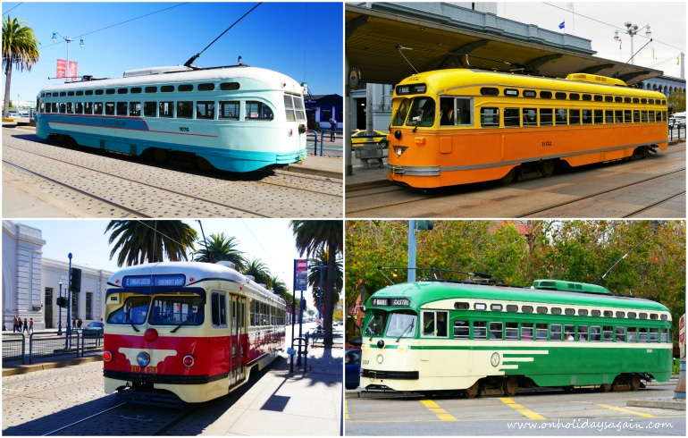 Visiter San Francisco en 1 jour Trams San Francisco Californie USA blog voyage suisse cosy on holidays again