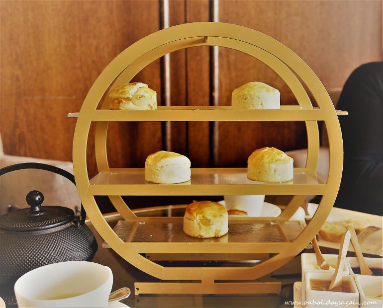 Les scones de l'afternoon tea du Beau-Rivage à Lausanne