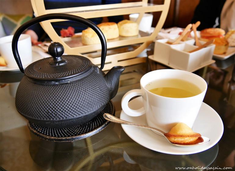 Le thé de l'afternoon tea à Lausanne au Beau-Rivage