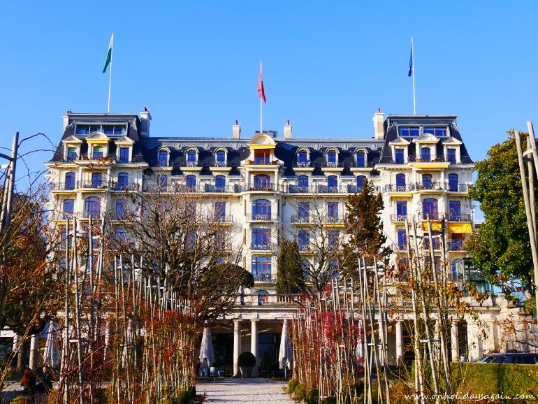 Le Beau-Rivage Palace à Lausanne
