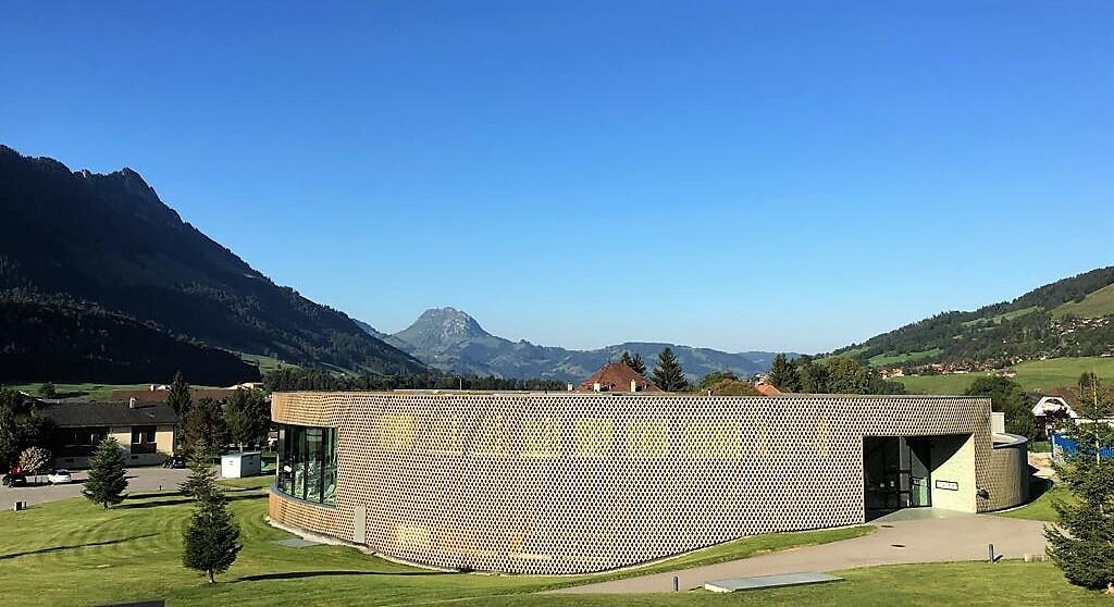 Bains de Gruyère en Suisse