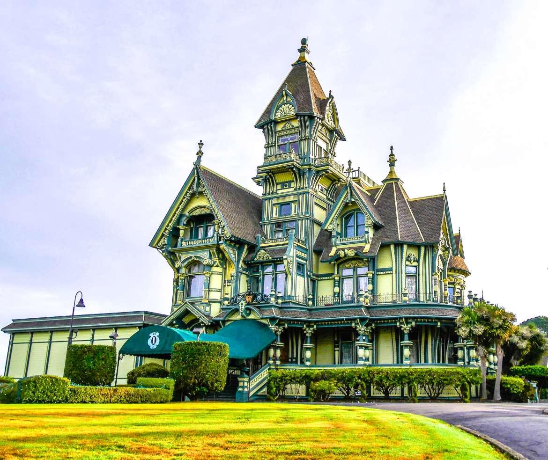 Carson Mansion Eureka en Californie du Nord