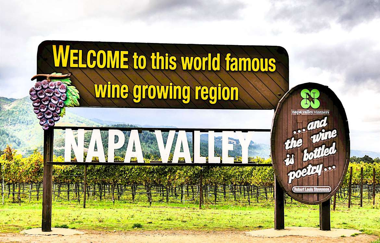 Panneau Napa Valley