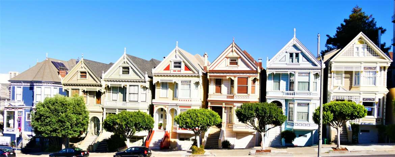 Visiter San Francisco les Painted Ladies
