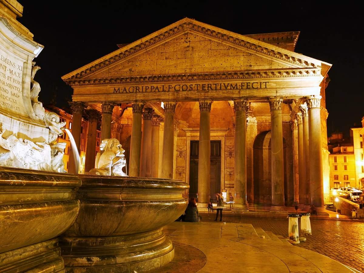 Week End En Amoureux à Rome Avec Le Panthéon De Nuit