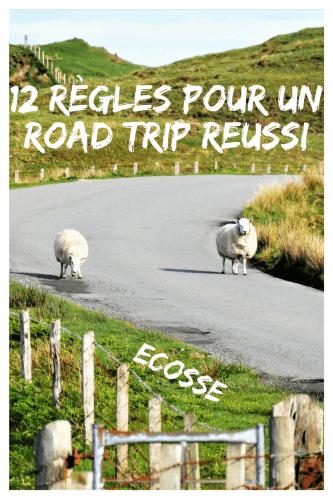 12 règles pour un road trip en Ecosse Pinterest
