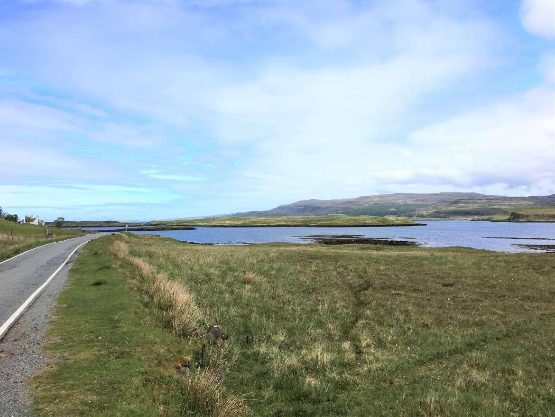 Paysage de l'ile de Skye pendant notre Road trip en Ecosse