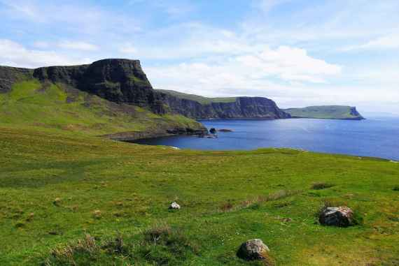 Visiter l'Ile de Skye Phare de Neist Point ile de Skye highland Ecosse blog voyage suisse cosy on holidays again
