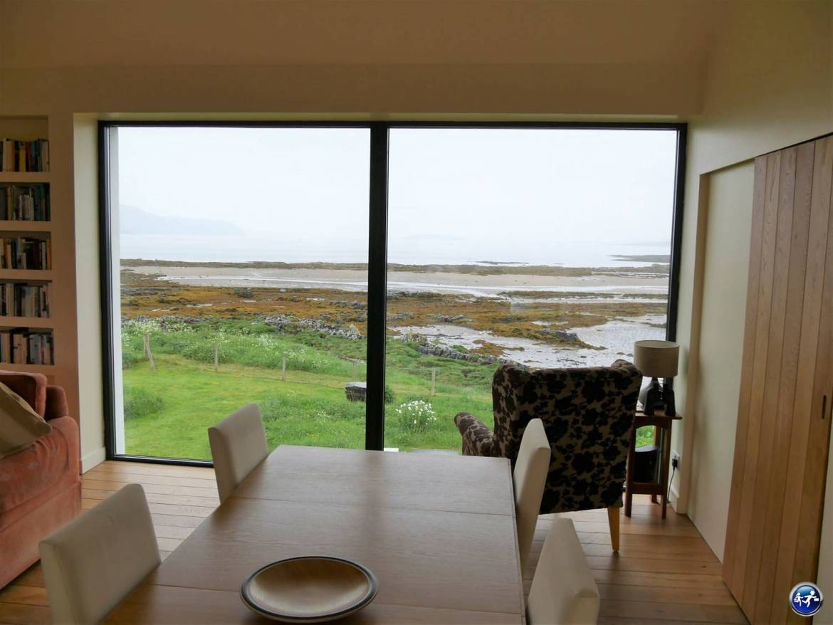Salon du bed and breakfast Ti an Dochais sur l'Ile de Skye