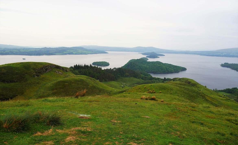 Conic Hill à Loch Lomond en Ecosse