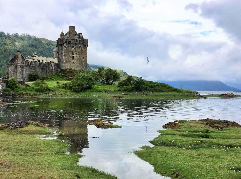 Le chateau de Eliean Donan en Ecosse