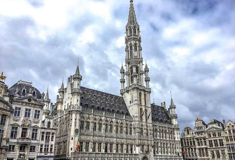 Visiter Bruxelles en 1 jour Hôtel de Ville Grand-Place