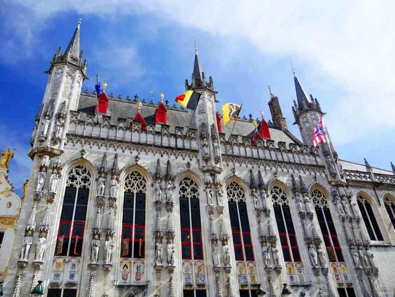 Hôtel de Ville Place Burg à visiter à Bruges