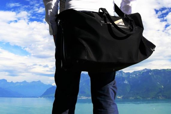 bien faire ses bagages sac week-end homme blog voyage suisse cosy on holidays again