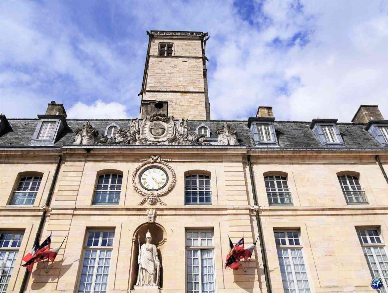 Palais des ducs à Dijon en Bourgogne