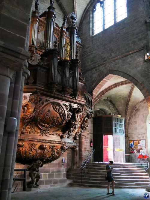 week-end luxeuil-les-bains orgue basilique saint pierre luxeuil vosges du sud france blog voyage suisse cosy on holidays again