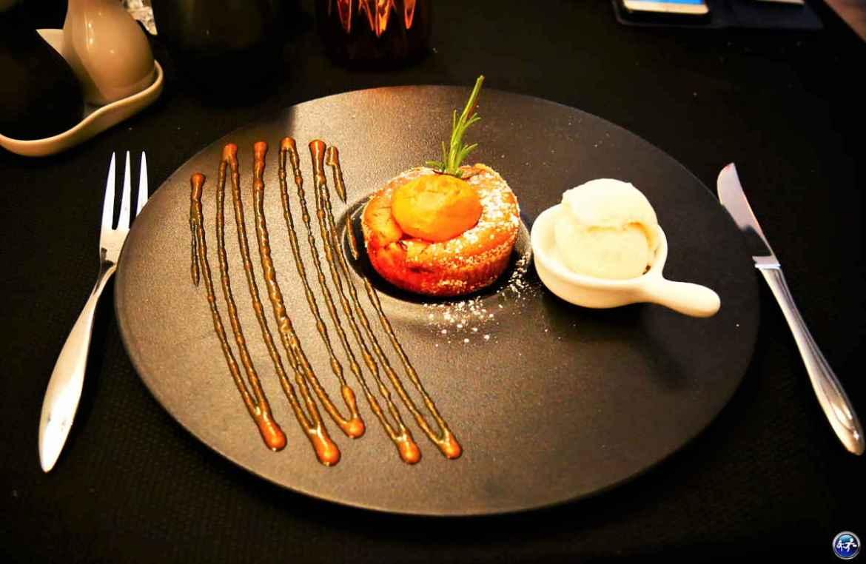 Dessert du restaurant de l'Annexe Café Français à Luxeuil-les-Bains