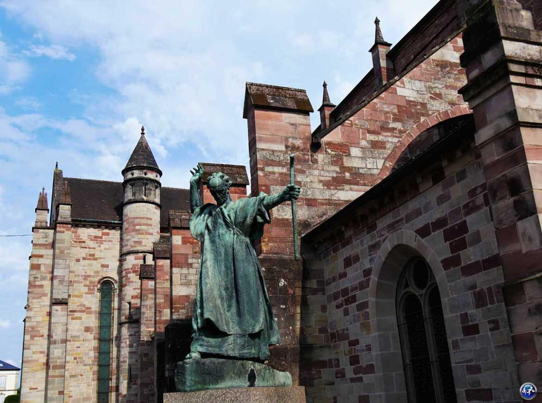 Saint colomban à Luxeuil-les-bains