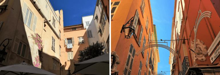 Rues de la vieille ville de Monaco sur le Rocher