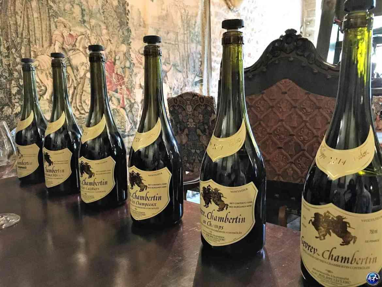 Dégustation des crus de Bourgogne à la Côte de Nuits