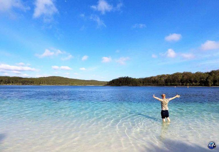 lac mckenzie fraser island queensland australie blog voyage suisse cosy