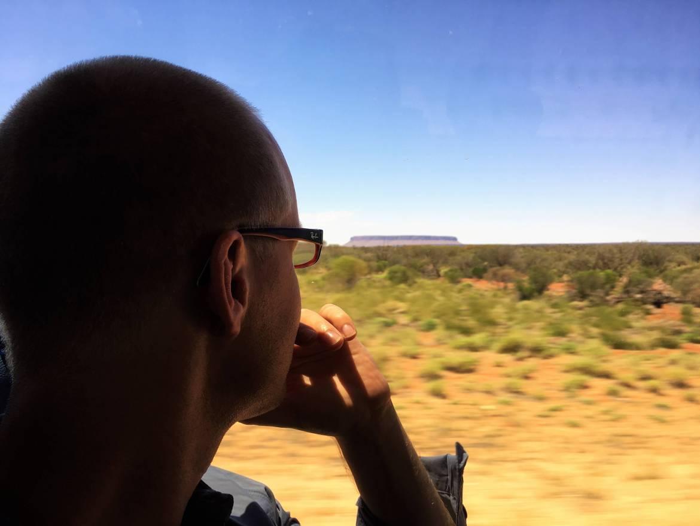 Dans l'outback en Australie en tourdumondiste