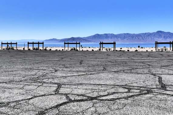 Salton Sea en Californie du Sud