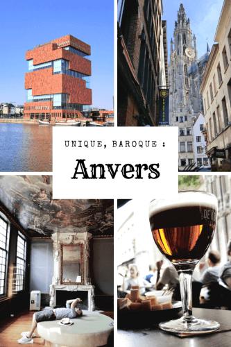 Visiter Anvers à pied en 2 jours Pinterest