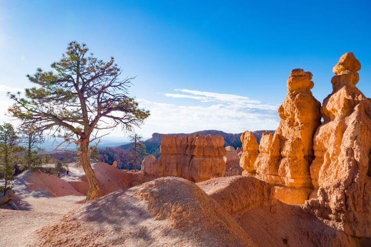 Débuter le Queens Garden Trail à Bryce Canyon