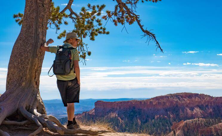 Profiter de la vue à Bryce Canyon