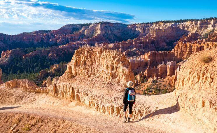 Randonnée Queens Garden Trail à Bryce Canyon