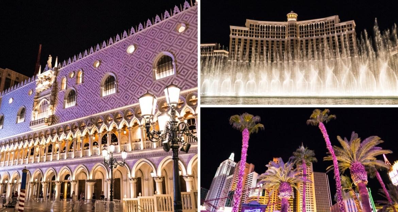 Visiter Las Vegas de nuit dans le Nevada