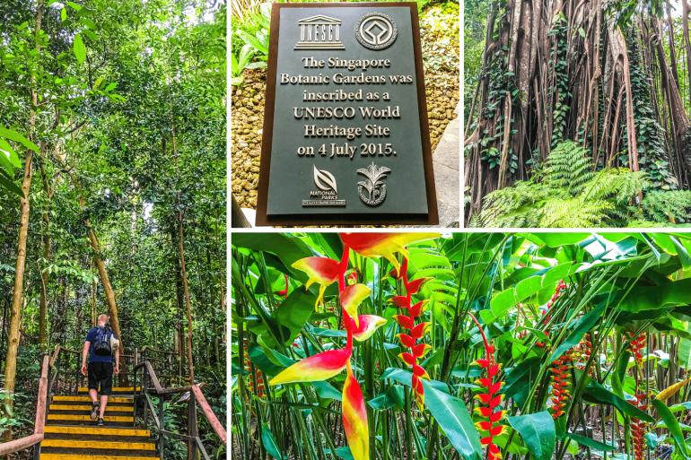 Jardin botanique de Singapour à l'UNESCO